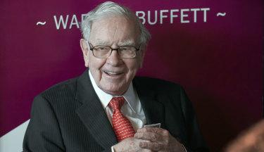 Expensive lunch companion: Billionaire investor Warren Buffett, chairman and chief executive of Berkshire Hathaway.