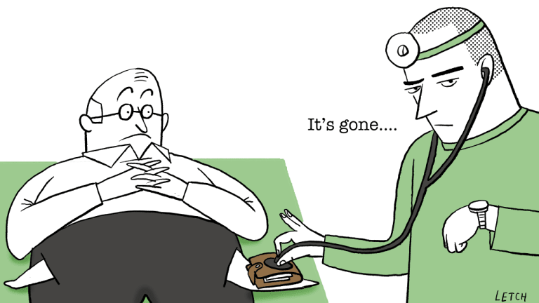 Your ongoing eligibility for a Commonwealth Seniors Health Card may have changed. Illustration: Simon Letch