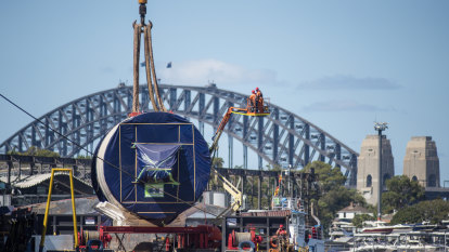 Kathleen's key job in historic crossing of Sydney Harbour