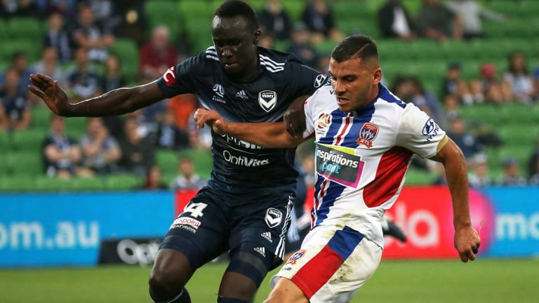 In demand: Andrew Nabbout.