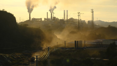 Australia is a major exporter of coal to China's power plants and steel mills.