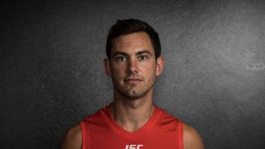 Sidelined: Sydney recruit Daniel Menzel has tweaked his troublesome groin again.