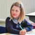 Sophie Butcher will start prep on Thursday at St Margaret's Catholic Primary School.