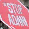 Anti-Adani protesters cause peak-hour delays in Sydney CBD