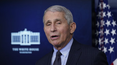 Anthony Fauci, director of the National Institute of Allergy and Infectious Diseases, said blood clotting cases appeared to be extremely rare.
