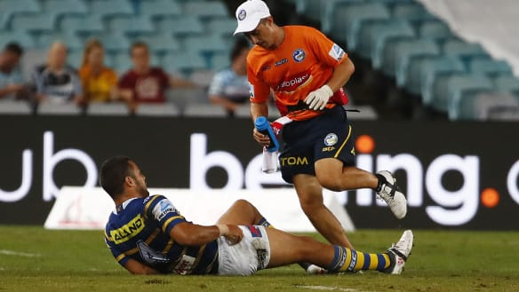 The Hayne pain: Eels lose fullback and Sharks pile on the agony