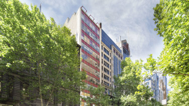Investor Jason Yeap is selling down strata office space in 278 Collins Street.