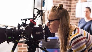 Monica Zanetti directing Ellie & Abbie (& Ellie's Dead Aunt)