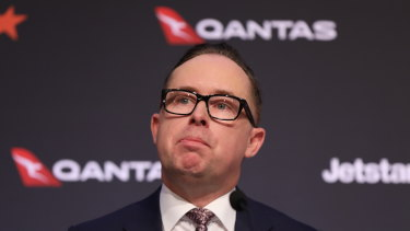 Qantas boss Alan Joyce says there will be no justification for state border closures after April.