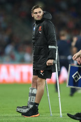 Stephen Coniglio has been injured since the start of April.