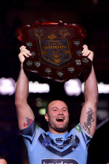 """""""Over the years we haven't had too much success, but every year I go into camp and pull on this jersey the support seems to get more and more"""": Boyd Cordner."""