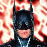 Val Kilmer as Batman in Batman Forever.