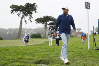 Jason Day has returned to a share of the lead.