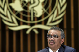 WHO Director-General Tedros Adhanom Ghebreyesus, pictured in February.