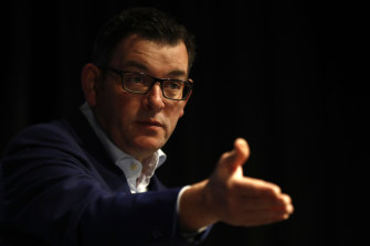 Daniel Andrews invited the federal Labor intervention in response to revelations about ex-minister Adem Somyurek's activities.