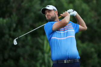 Marc Leishman didn't win, but he did move up the world rankings.