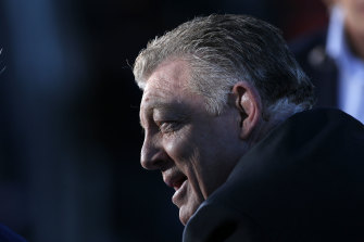 Matt Gould believes Phil Gould would make an excellent NRL chief executive.