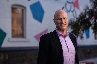 Launch Housing CEO Bevan Warner.