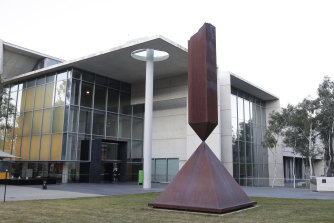 Canberra's National Gallery of Australia has been listed as a potential COVID-19 exposure site.