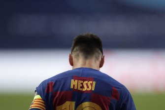Lionel Messi could be on his way out of Barcelona.