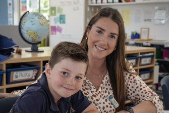Ashley Price moved out of Sydney to take her first teaching job at Holy Trinity in Wagga.