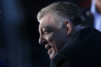 Phil Gould has spied a gap in the agent market.