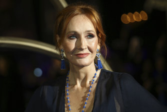 J.K. Rowling, pictured in 2018, has published the first two chapters of her story online for free.