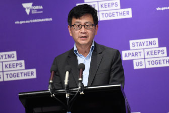 Deputy Chief Health Officer Allen Cheng offered hope on the five-kilometre restriction being lifted.