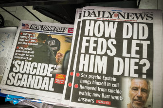 Epstein's death attracted global attention.