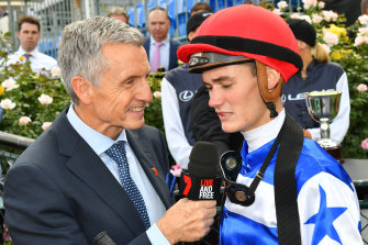 McAvaney will still lead Channel Seven's horse racing coverage.