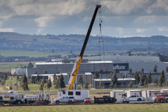 Construction of the new quarantine facility in Mickleham has begun.