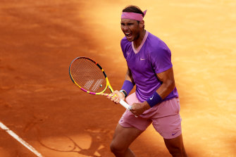Rafael Nadal will face Djokovic in the Rome final after beating Reilly Opelka in their semi-final.