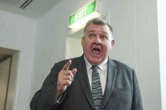 Crossbench MP Craig Kelly
