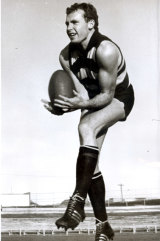 Gareth Andrews in his Geelong days.