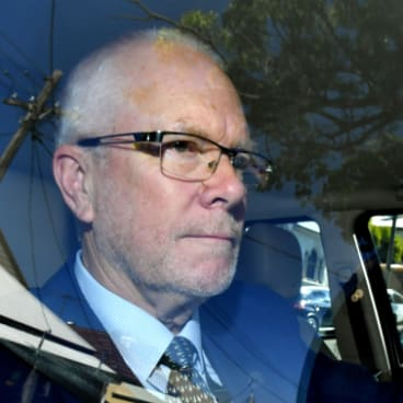 Former ABC chairman Justin Milne following his resignation on Thursday.