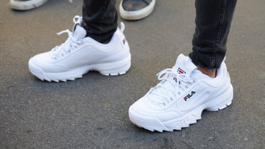 Retro footwear has helped Fila come back to life.
