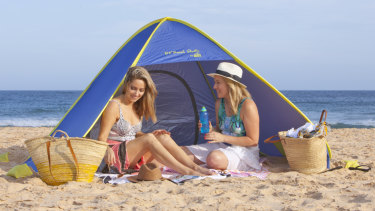 Pop up beach igloos continue to be a 'stalwart' product for Shelta.