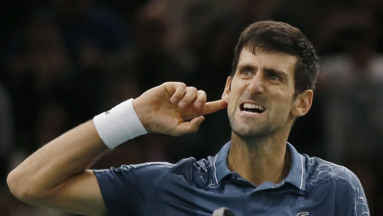 Novak Djokovic will end the year on top of the world.