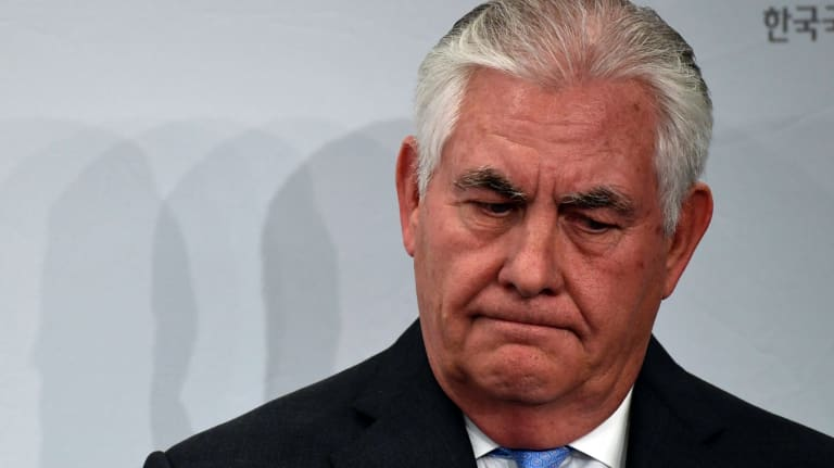 Secretary of State Rex Tillerson has stubbornly resisted what seem like clear signals that he is no longer welcome in the administration.