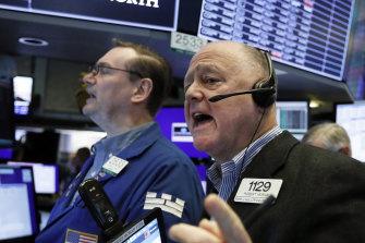 Wall Street's winning streak is in danger.
