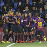 Barcelona in amazing eight-goal Liga draw