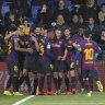 Barcelona in amazing eight-goal Liga draw