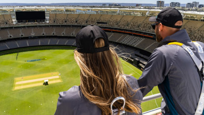 Optus Stadium experience takes dedicated sports fans to new heights