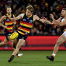 Adelaide fight back against GWS for their best win of the season