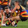 Live AFL scores: Adelaide v Collingwood
