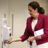 Premier gets tested for COVID-19 after her voice turns hoarse