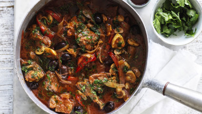 Back to the future: Adam Liaw's lamb cacciatore, and puftaloons with golden syrup