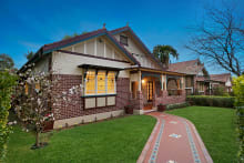 The four-bedroom house at 30 Boomerang Street, in Sydney's Haberfield sold at auction $2.31 million.