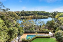 What you see in the pictures: The view from 347 Burns Bay Road, Lane Cove West.