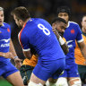 'We owe it to the sport': Wallabies gear up to fight Koroibete charge and diving scourge
